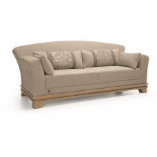 UNIMEBEL TIMELESS WOOD COLLECTION SOFA 3-os