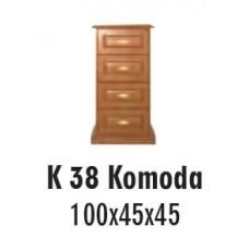 SOŚNO MEBLE ALBORG KOMODA K-38