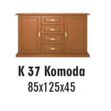 SOŚNO MEBLE ALBORG KOMODA K-37