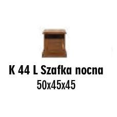SOŚNO MEBLE ALBORG SZAFKA NOCNA K-44L