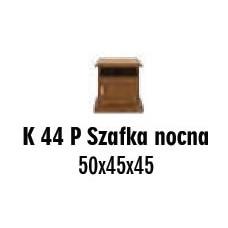 SOŚNO MEBLE ALBORG SZAFKA NOCNA K-44P