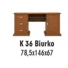 SOŚNO MEBLE ALBORG BIURKO K-36