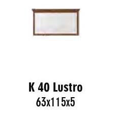 SOŚNO MEBLE ALBORG LUSTRO K-40