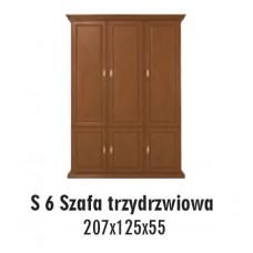 SOŚNO MEBLE ALBORG SZAFA S-6