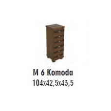 SOŚNO MEBLE MOLVENO KOMODA M-6