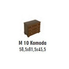 SOŚNO MEBLE MOLVENO KOMODA M-10