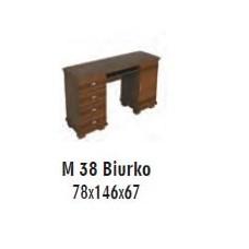 SOŚNO MEBLE MOLVENO BIURKO M-38