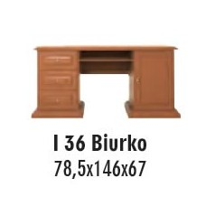 SOŚNO MEBLE ISOLA BIURKO I-36
