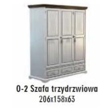 SOŚNO MEBLE OLIVERA SZAFA O-2