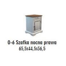 SOŚNO MEBLE OLIVERA SZAFKA NOCNA O-6