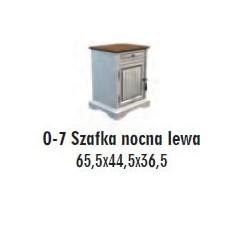 SOŚNO MEBLE OLIVERA SZAFKA NOCNA O-7