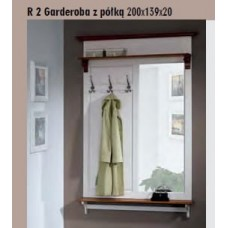 SOŚNO MEBLE RIVA GARDEROBA R-2